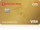 Mercury Drug Citi Card