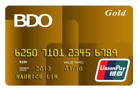 BDO Gold UnionPay