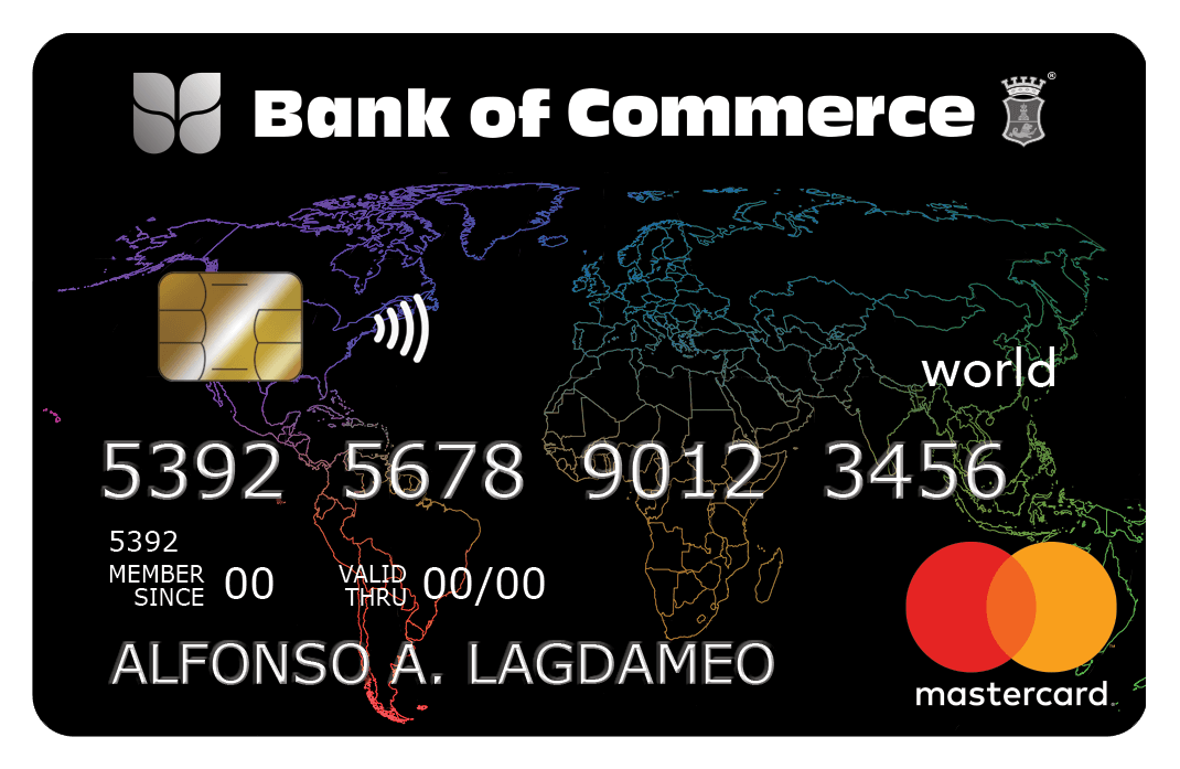 Bank of Commerce World MasterCard