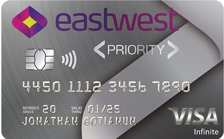 EastWest Priority Visa Infinite Card