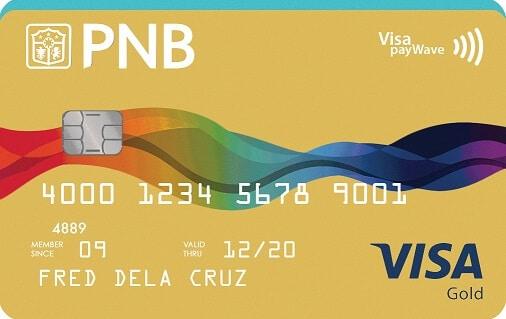 PNB Visa Gold Card