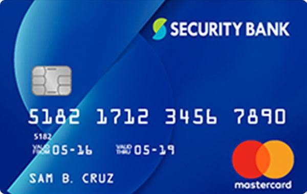 Security Bank Classic Rewards MasterCard