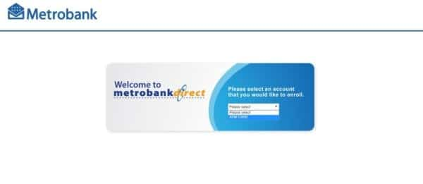 Metrobank Direct Online Banking Enrollment