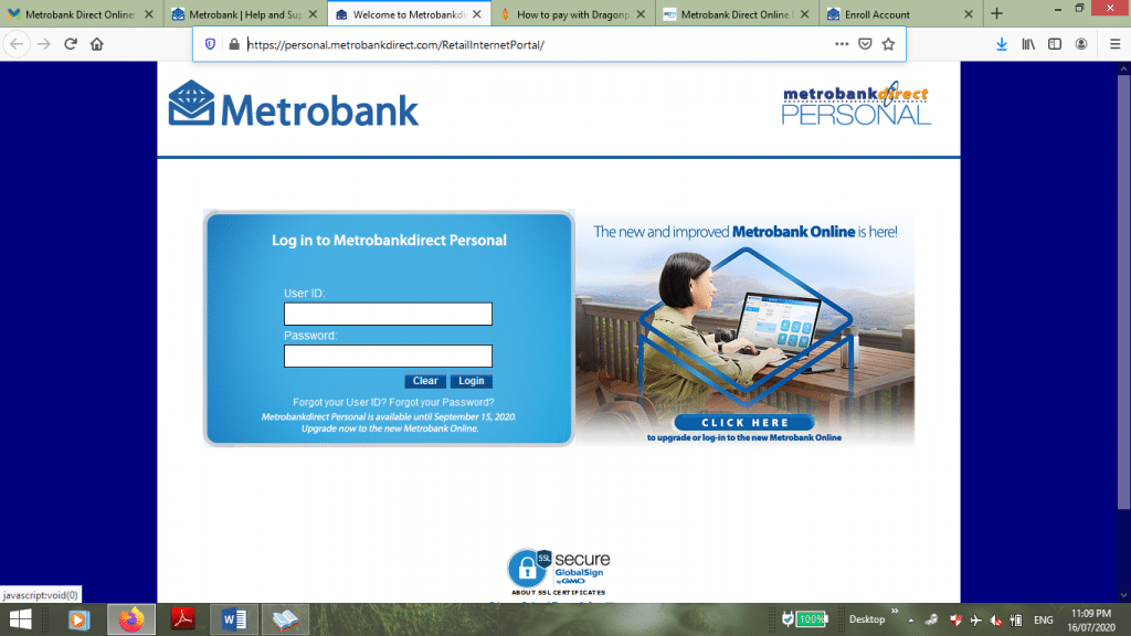 Metrobank-Direct-Online-Banking-Login-Page